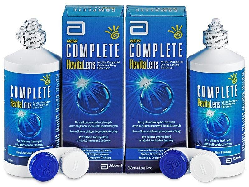 Výhodné dvojbalení roztoku - Roztok Complete RevitaLens 2x360ml