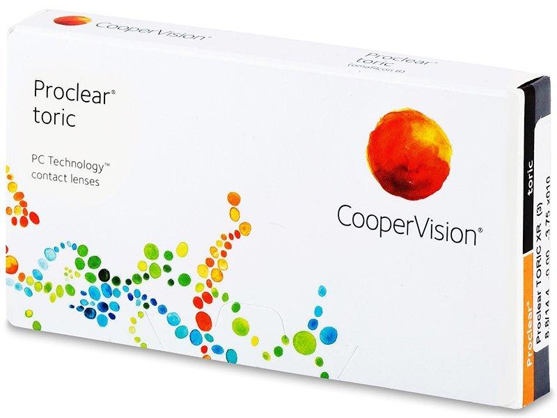 Proclear Toric XR (3čočky) - Torické kontaktní čočky