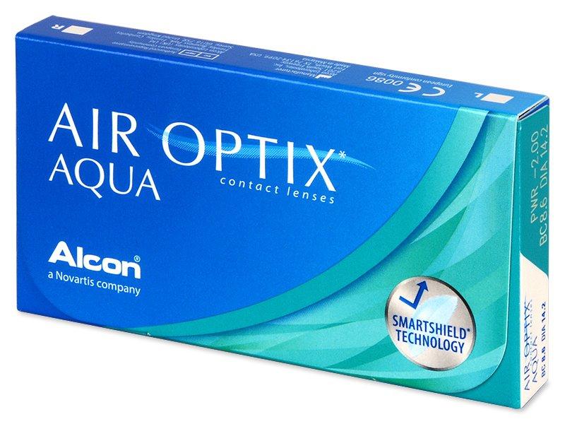 Air Optix Aqua (3čočky) - Měsíční kontaktní čočky