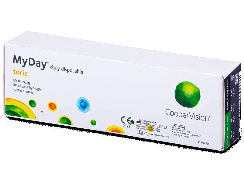 MyDay daily disposable toric (30 čoček) - Torické kontaktní čočky