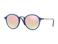 Sluneční brýle - Ray-Ban ROUND FLECK FLAT LENSES RB2447N 62547O
