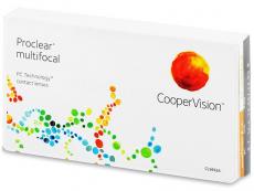 Multifokální kontaktní čočky - Proclear Multifocal XR (3čočky)