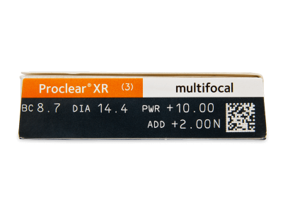 Proclear Multifocal XR (3čočky) - Náhled parametrů čoček