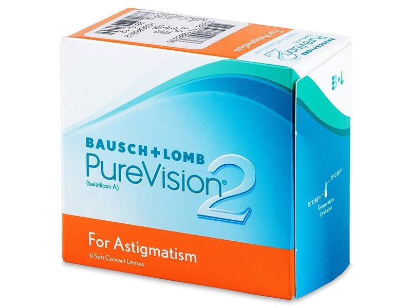 PureVision 2 for Astigmatism (6čoček) - Torické kontaktní čočky