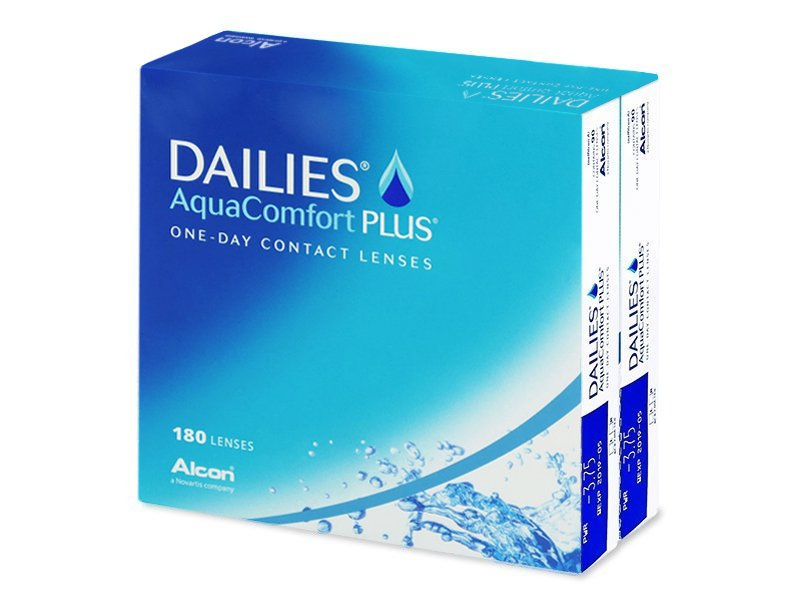 Dailies AquaComfort Plus (180 čoček)