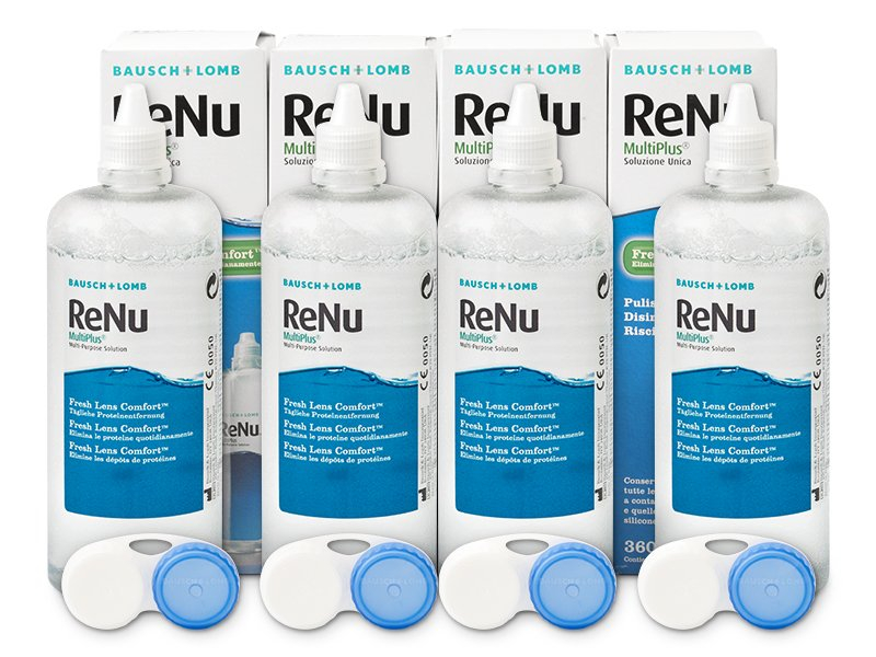 Roztok ReNu MultiPlus 4x360ml  - Předchozí design