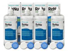 Roztoky na kontaktní čočky - čistící a dezinfekční oční roztoky - RoztokReNuMultiPlus 4x360ml