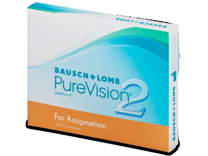 PureVision 2 for Astigmatism (3čočky) - Torické kontaktní čočky