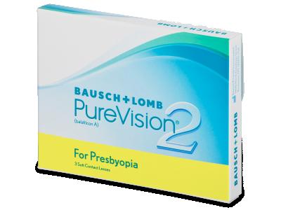 PureVision 2 for Presbyopia (3čočky) - Multifokální kontaktní čočky