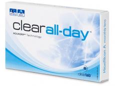 Měsíční levné kontaktní čočky - Clear All-Day (6čoček)