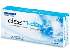Seznam všech očních čoček - Clear 1-Day (30čoček)