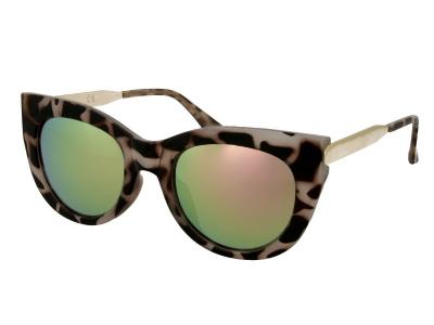 Sluneční brýle Alensa Cat Eye Havana Pink Mirror