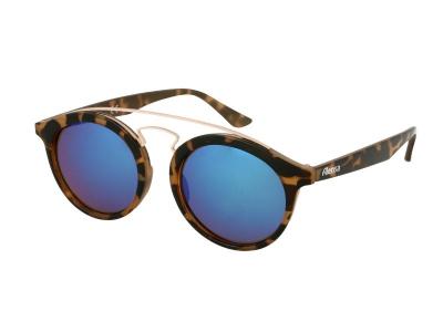 Dětské sluneční brýle Alensa Panto Havana Blue Mirror