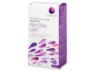 Roztok All in One Light 100 ml  - Čistící roztok