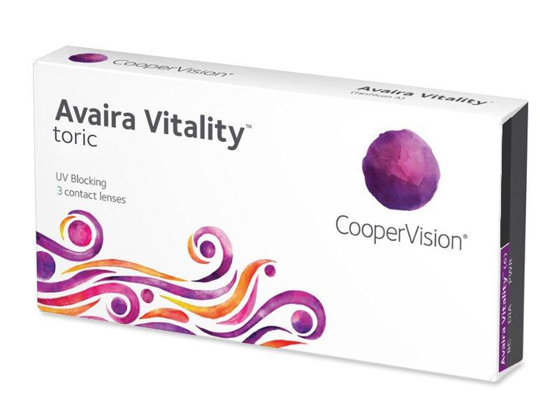 Avaira Vitality Toric (3 čočky) - Torické kontaktní čočky
