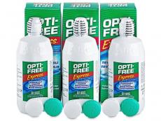 Roztoky na kontaktní čočky - čistící a dezinfekční oční roztoky - Roztok OPTI-FREE Express 3x355ml