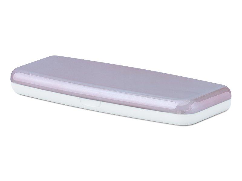 Pevné pouzdro na jednodenní čočky - růžové  - Pevné pouzdro na jednodenní čočky - růžové