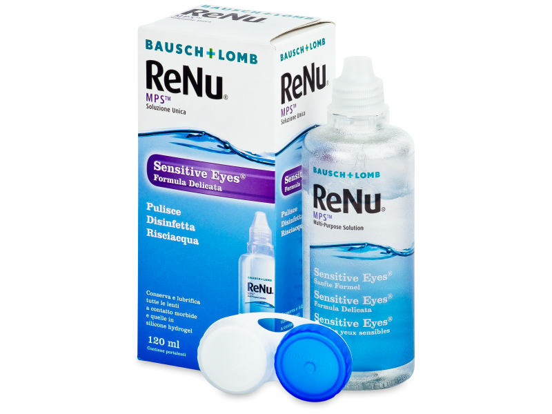 Roztok ReNu MPS Sensitive Eyes 120 ml