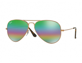 Sluneční brýle Aviator - Ray-Ban Aviator Mineral Flash Lenses RB3025 9018C3