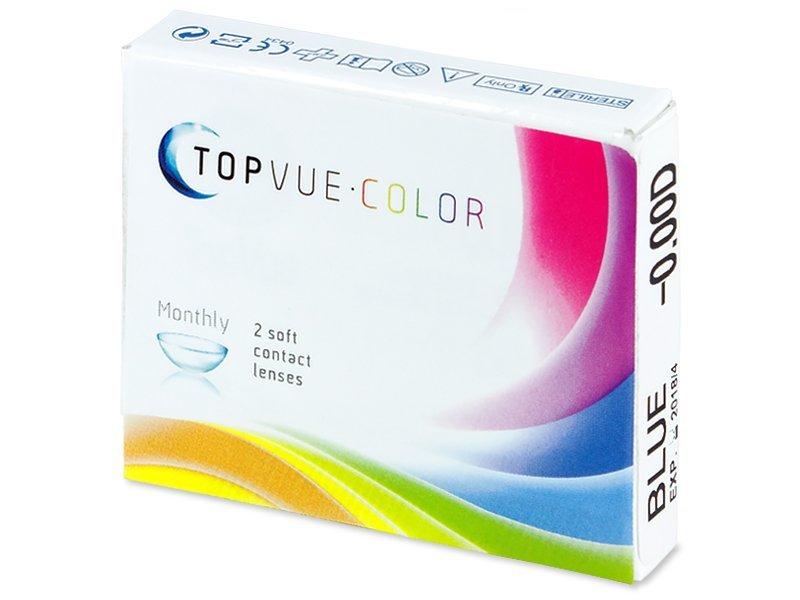 TopVue Color - nedioptrické (2čočky) - Barevné kontaktní čočky