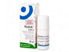 Oční kapky - zvlhčení očí - umělé slzy - Oční kapky Hyabak 10 ml