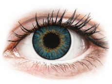 Barevné kontaktní čočky - dioptrické - Air Optix Colors - Blue - dioptrické (2čočky)