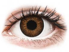 Barevné kontaktní čočky - dioptrické - Air Optix Colors - Brown - dioptrické (2čočky)