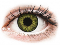 Barevné kontaktní čočky - dioptrické - Air Optix Colors - Gemstone Green - dioptrické (2čočky)