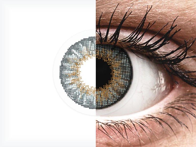 Air Optix Colors - Grey - nedioptrické (2 čočky)