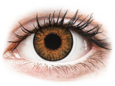 Barevné kontaktní čočky - dioptrické - Air Optix Colors - Honey - dioptrické (2čočky)
