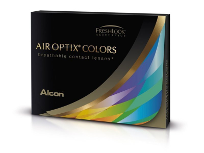 Air Optix Colors - Honey - dioptrické (2 čočky)