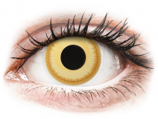 Kontaktní čočky Maxvue Vision - ColourVUE Crazy Lens - Avatar - nedioptrické (2 čočky)