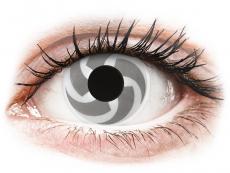 Kontaktní čočky Maxvue Vision - ColourVUE Crazy Lens - Blade - nedioptrické (2 čočky)