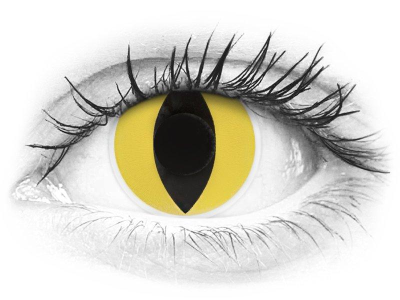 ColourVUE Crazy Lens - Cat Eye - nedioptrické (2 čočky) - ColourVUE Crazy Lens - Cat Eye - nedioptrické (2 čočky)