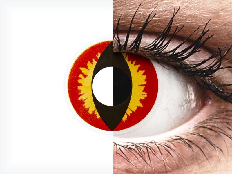 ColourVUE Crazy Lens - Dragon Eyes - nedioptrické (2 čočky) - ColourVUE Crazy Lens - Dragon Eyes - nedioptrické (2 čočky)