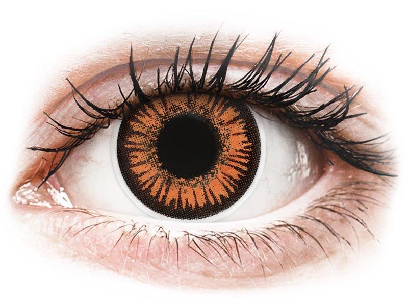 ColourVUE Crazy Lens - nedioptrické (2 čočky) Twilight