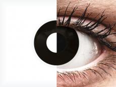ColourVUE Crazy Lens - BlackOut - dioptrické (2 čočky)