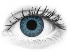 ColourVUE Crazy Lens - Solar Blue - dioptrické (2 čočky)
