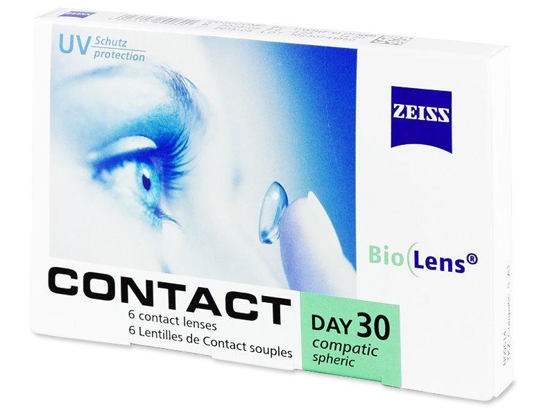 Carl Zeiss Contact Day 30 Compatic (6čoček) - Měsíční kontaktní čočky