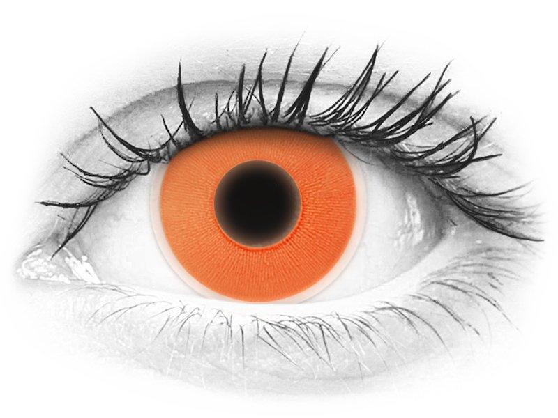 ColourVUE Crazy Glow Orange - nedioptrické (2čočky) - ColourVUE Crazy Glow Orange - nedioptrické (2čočky)