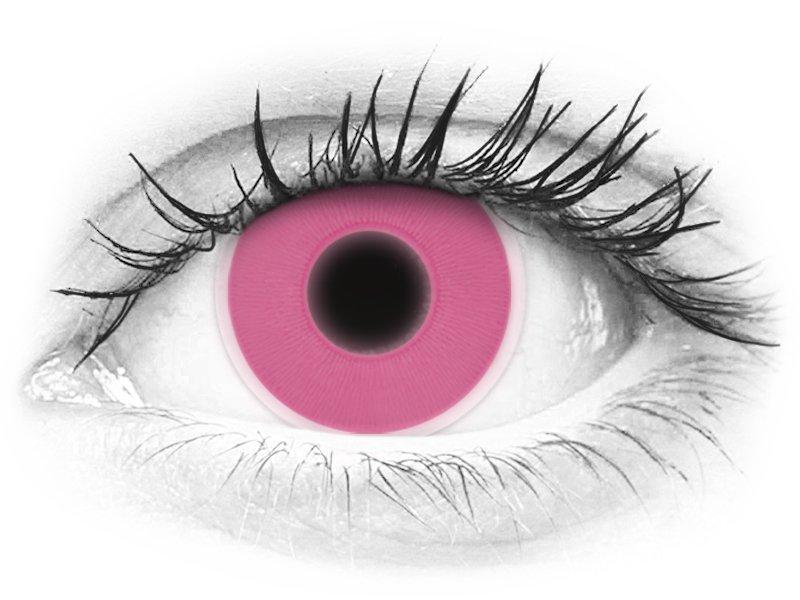 ColourVUE Crazy Glow Pink - nedioptrické (2čočky) - ColourVUE Crazy Glow Pink - nedioptrické (2čočky)