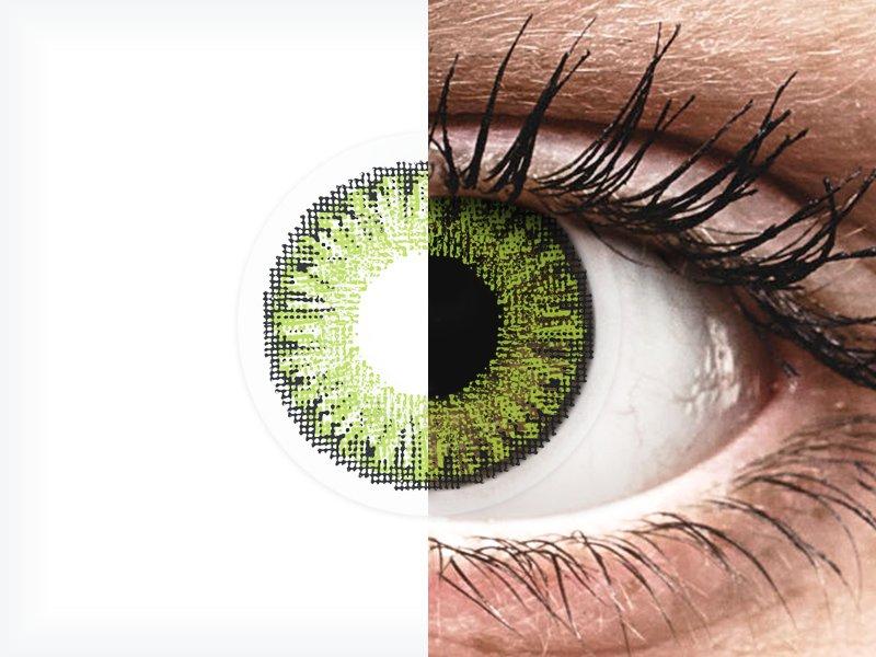 TopVue Color - Fresh green - dioptrické jednodenní (10 čoček) - TopVue Color - Fresh green - dioptrické jednodenní (10 čoček)