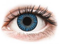 Barevné kontaktní čočky - TopVue Color - Sapphire Blue - nedioptrické jednodenní (10 čoček)