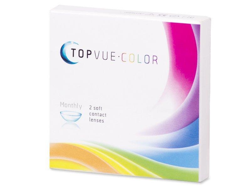 TopVue Color - Turquoise - dioptrické (2 čočky) - Předchozí design