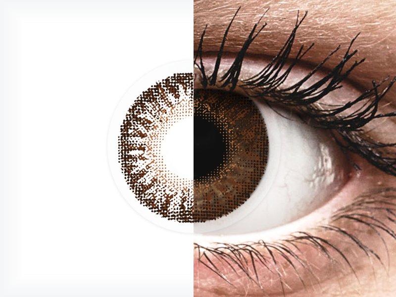 TopVue Color - Brown - nedioptrické (2čočky) - TopVue Color - Brown - nedioptrické (2čočky)