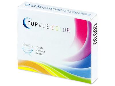 TopVue Color - True Sapphire - nedioptrické (2čočky)