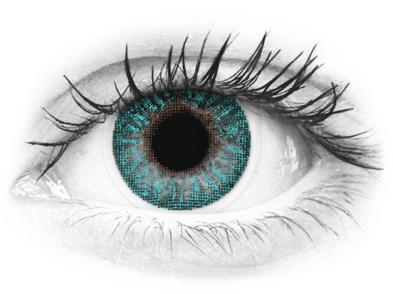 TopVue Color - Turquoise - nedioptrické (2čočky) - TopVue Color - Turquoise - nedioptrické (2čočky)