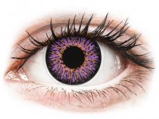 Barevné kontaktní čočky - nedioptrické - ColourVUE Glamour Violet - nedioptrické (2čočky)