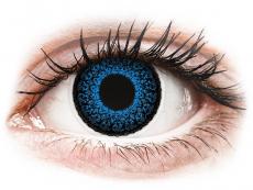 Kontaktní čočky Maxvue Vision - ColourVUE Eyelush Aqua - nedioptrické (2čočky)
