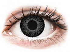 Šedé kontaktní čočky - nedioptrické - ColourVUE Eyelush Grey - nedioptrické (2čočky)